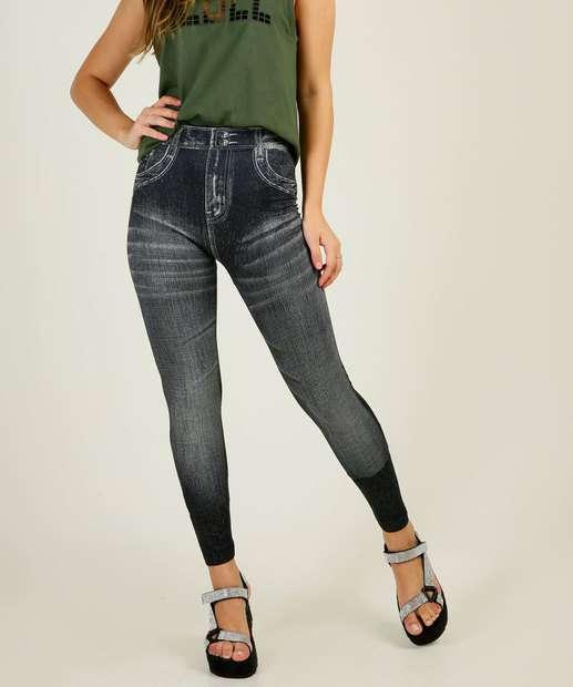 Image_Calça Feminina Legging Jeans Marisa