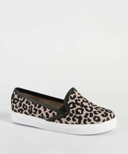 Image_Tênis Infantil Slip On Estampa Animal Print Molekinha