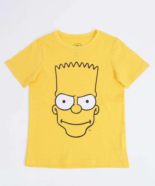 Image_Camiseta Infantil Estampa Bart Manga Curta Simpsons