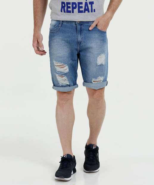 Image_Bermuda Masculina Jeans Destroyed Mr