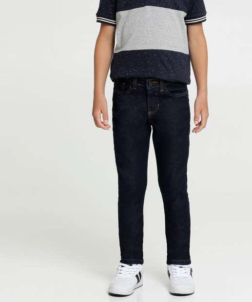 Image_Calça Infantil Jeans Bolsos Stretch MR