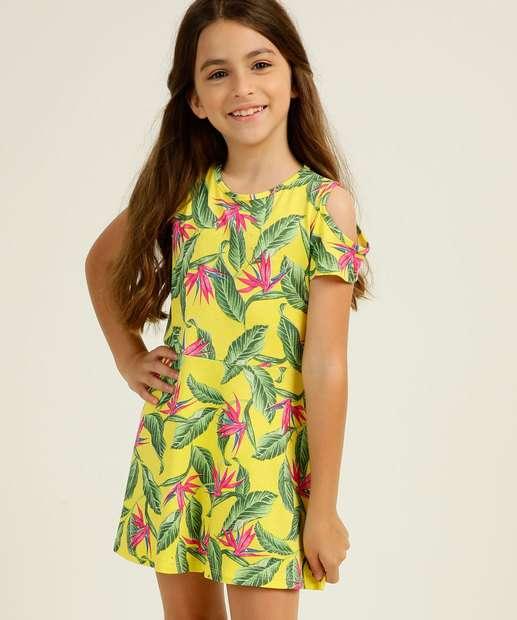 Image_Vestido Infantil Open Shoulder Tropical Tam 4 a 10