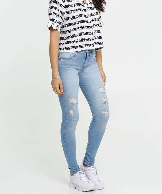 Image_Calça Jeans Destroyed Skinny Feminina Biotipo