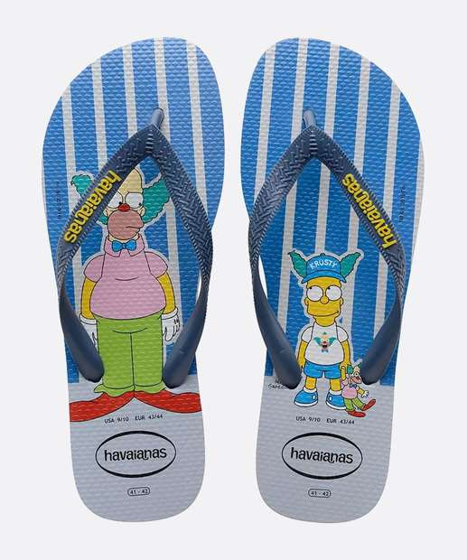 Image_Chinelo Havaianas Masculino Estampa Simpsons