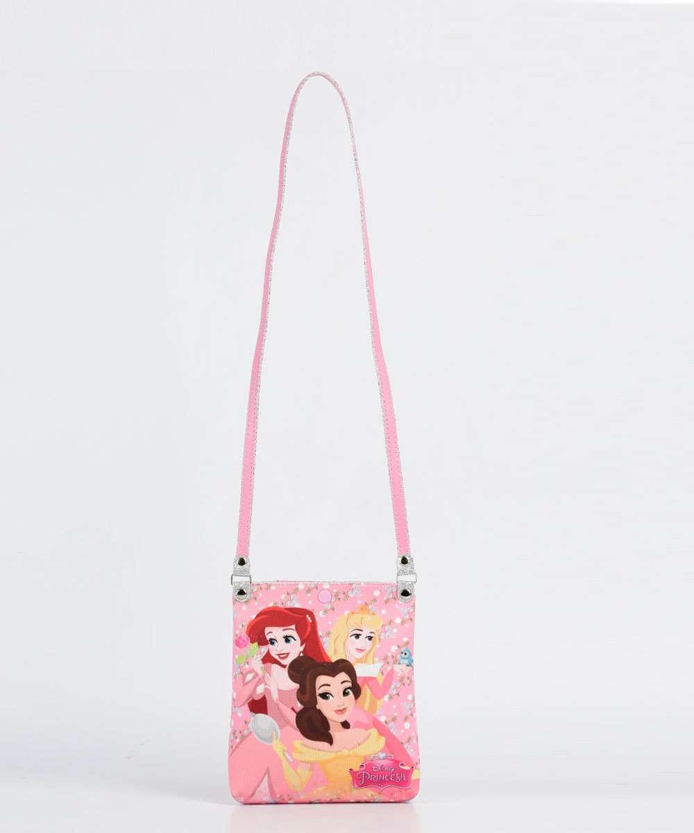 1537ccbab Bolsa Infantil Transversal Estampa Princesas Disney   Marisa