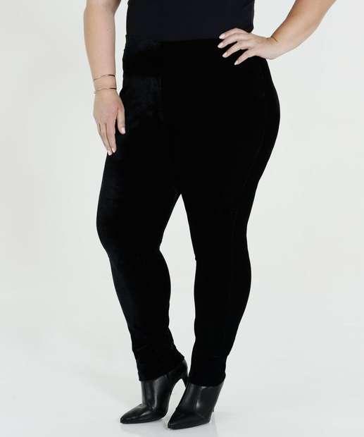 Image_Calça Feminina Veludo Legging Plus Size Marisa