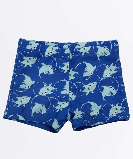 Image_Sunga Infantil Estampa Tubarão Proteção UV Marisa