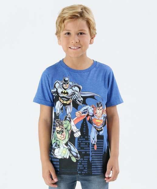 Image_Camiseta Infantil Super Heróis Anel Liga da Justiç