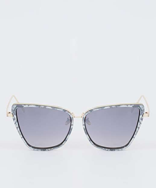 Image_Óculos de Sol Feminino Gateado Marmorizado Marisa