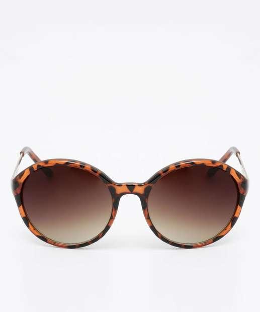 Image_Óculos de Sol Feminino Estampado Redondo Marisa