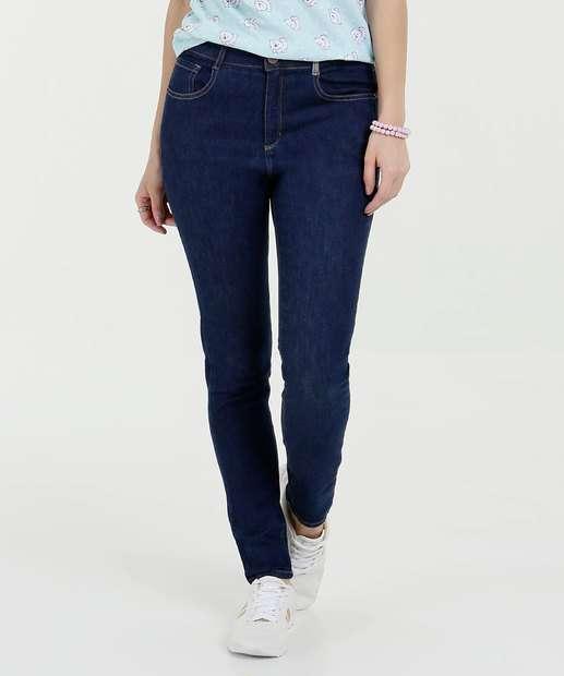 Image_Calça Feminina Jeans Skinny Bolsos Marisa