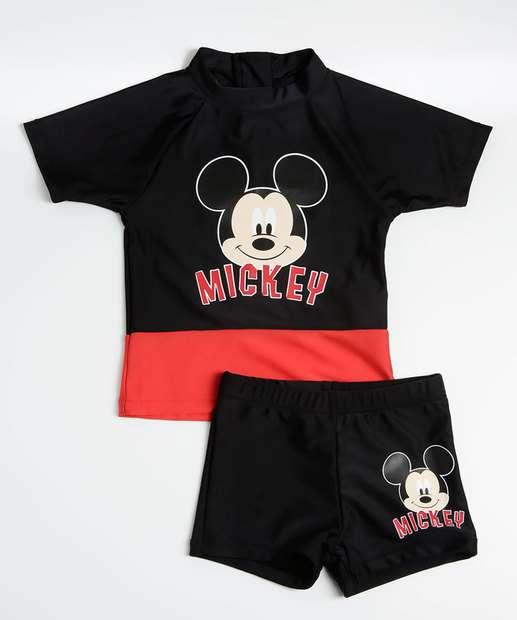 Image_Conjunto Infantil Estampa Mickey Proteção UV Disney