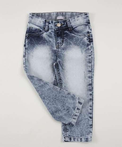 Image_Calça Infantil Jeans Delavê Marisa