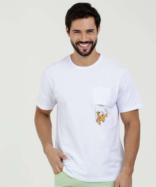 Image_Camiseta Masculina Estampa Frontal Scooby Doo Warner Bros