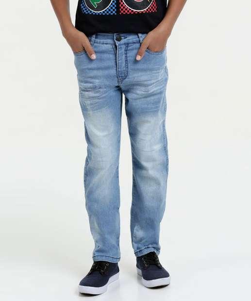 Image_Calça Juvenil Jeans Puídos Marisa