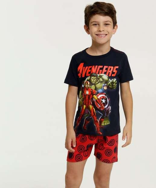 Image_Pijama Infantil Brinde Estampa Vingadores Marvel