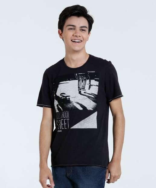 Image_Camiseta Juvenil Estampa Skate Marisa