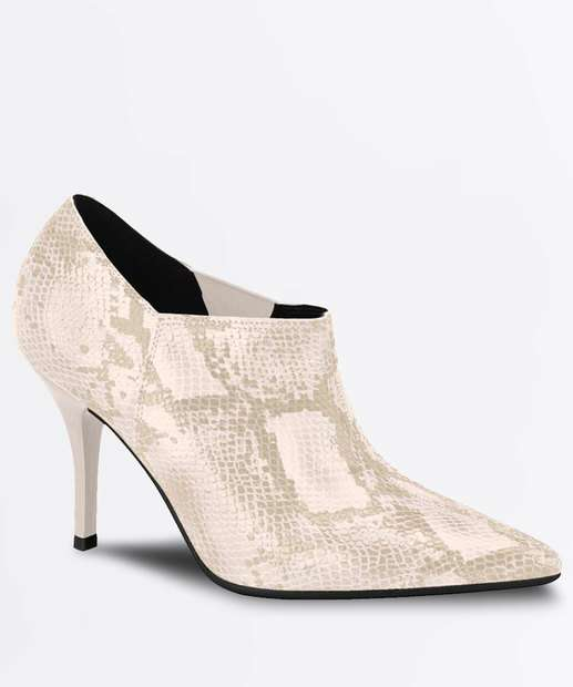 Image_Bota Feminina Ankle Boot Textura Cobra Beira Rio