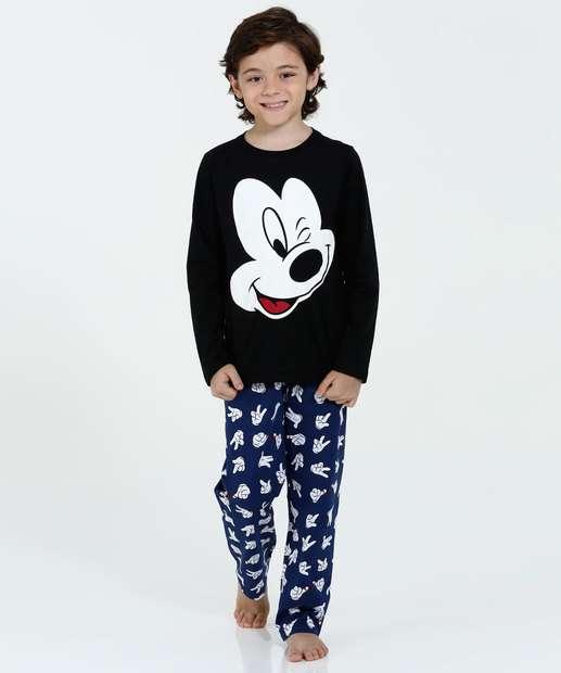 Image_Pijama Infantil Estampa Mickey Disney