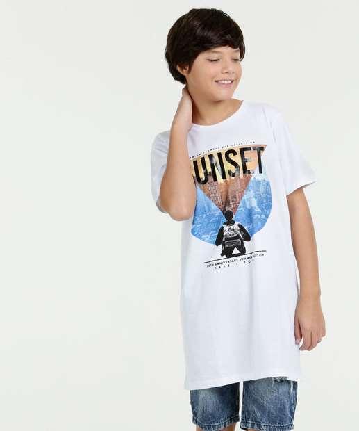 Image_Camiseta Juvenil Estampa Cidade Manga Curta Marisa