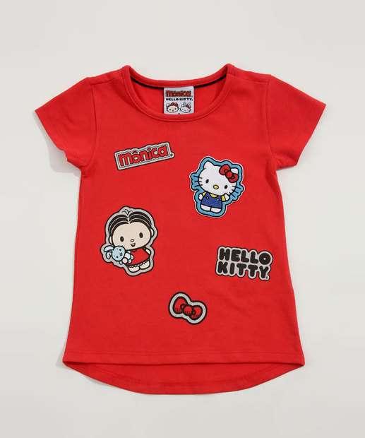 Image_Blusa Infantil Hello Kitty e Monica Sanrio