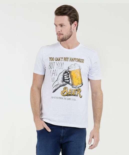 Image_Camiseta Masculina Estampa Frontal Marisa