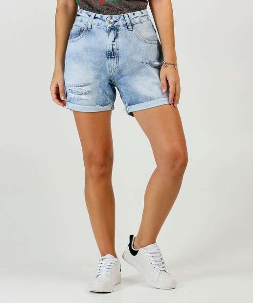 Image_Bermuda Jeans Destroyed Feminina Disparate