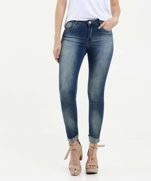 Image_Calça Feminina Skinny Puídos Zune Jeans By Sabrina Sato
