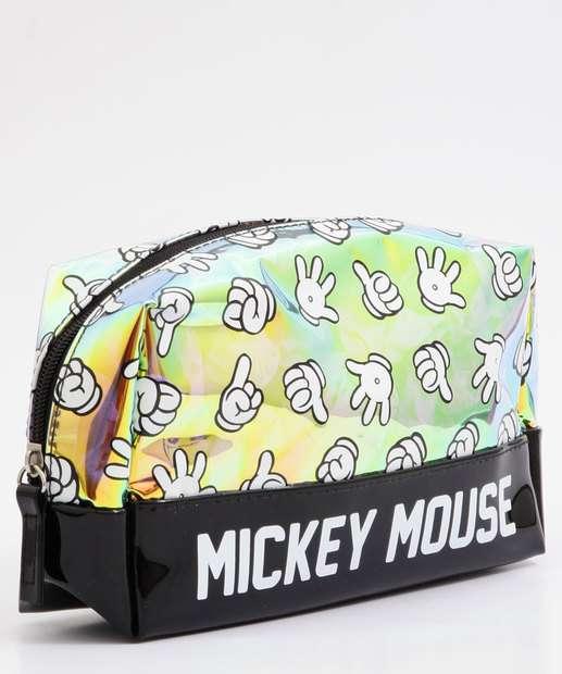 Image_Necessaire Feminina Mickey Holográfica Disney