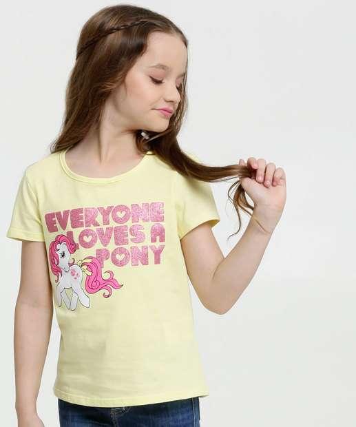 Image_Blusa Infantil Estampa My Little Pony Manga Curta Hasbro