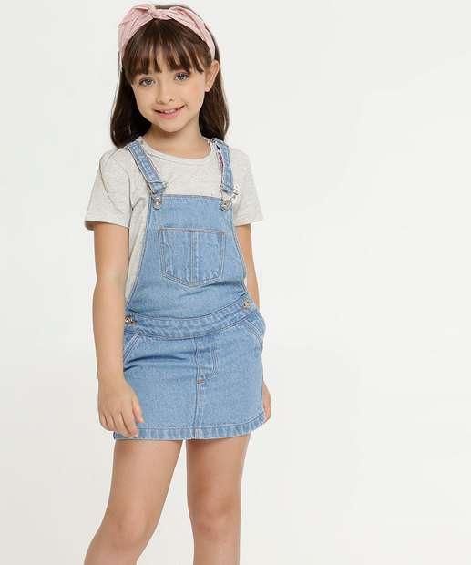 Image_Salopete Infantil Jeans Botões Marisa