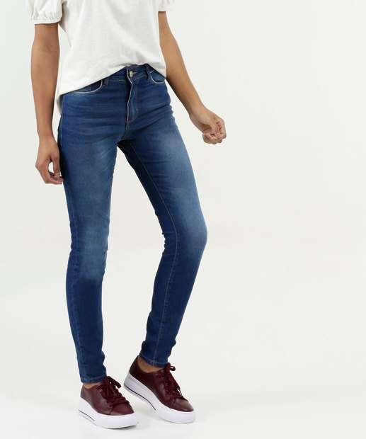 Image_Calça Feminina Skinny Bolsos Five Jeans