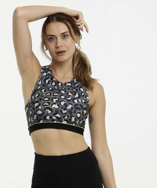 Image_Top Feminino Fitness Neon Estampa Animal Print Marisa