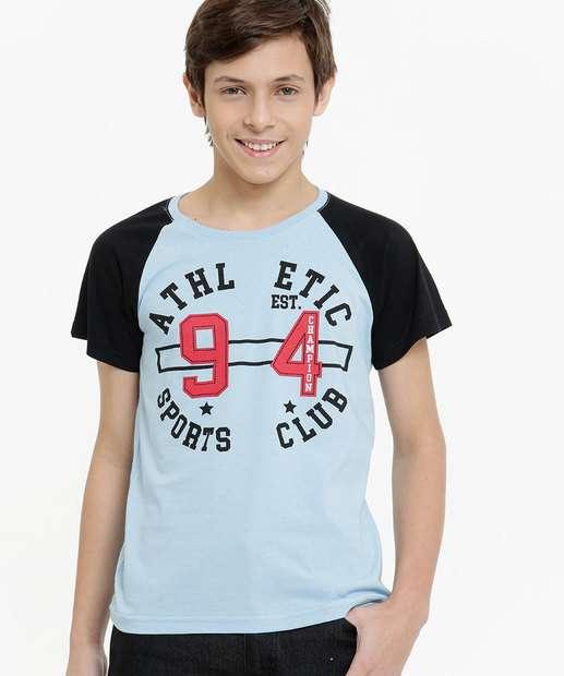 Image_Camiseta Juvenil Manga Curta Estampa Frontal Tam 10 a 16