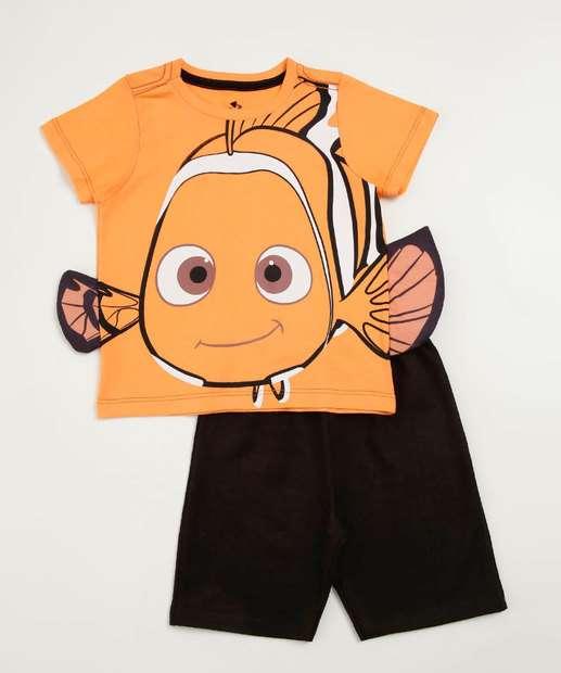 Image_Conjunto Infantil Estampa Nemo Manga Curta Disney