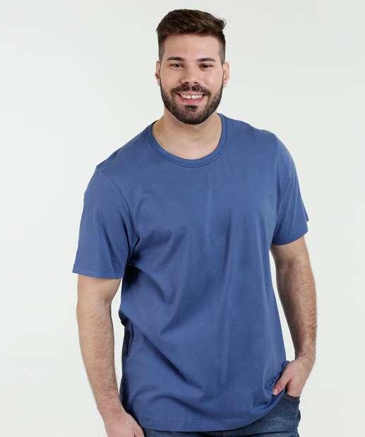 Image_Camiseta Masculina Plus Size Manga Curta Kohmar