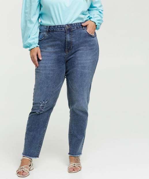 Image_Calça Jeans Destroyed Cigarrete Feminina Plus Size Marisa