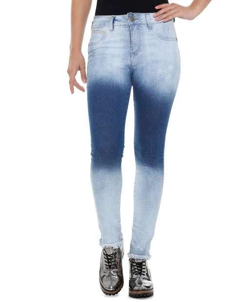 Image_Calça Feminina Capri Jeans Levanta bumbum Marisa
