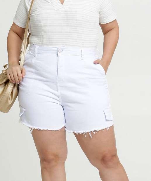 Image_Short Feminino Jeans Bolsos Plus Size Razon