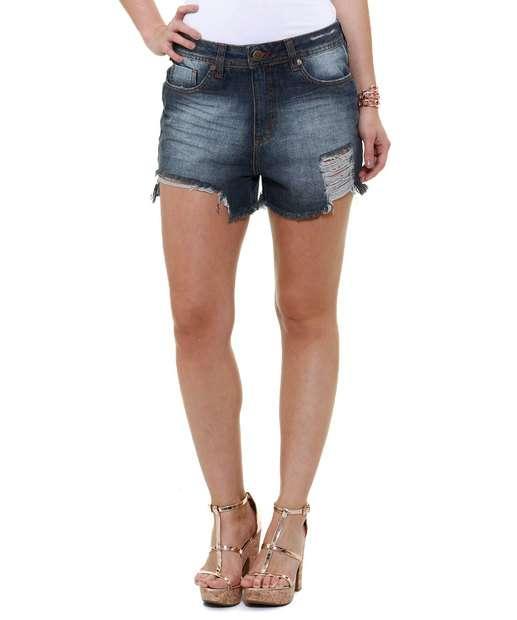 Image_Short Feminino Destroyed Jeans Marisa