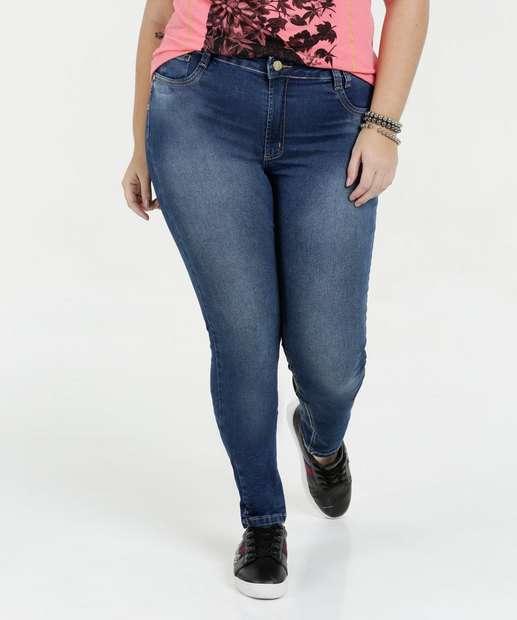 Image_Calça Feminina Jeans Skinny Plus Size Sawary