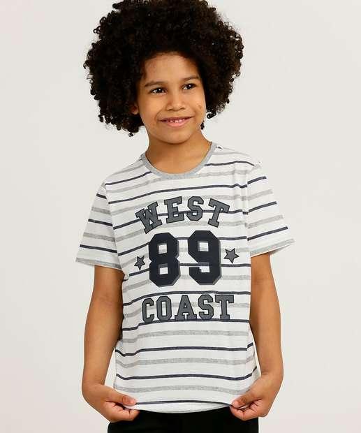 Image_Camiseta Infantil Manga Curta Listrada Tam 4 a 10