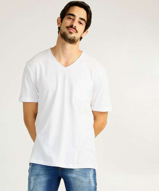 Image_Camiseta Masculina Básica Manga Curta MR