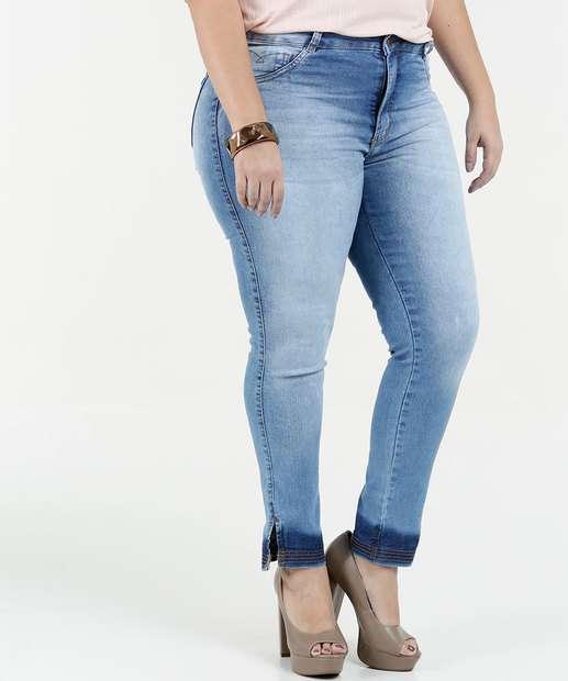 Image_Calça Feminina Jeans Cintura Alta Skinny Plus Size Biotipo