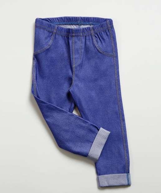 Image_Calça Infantil Jeans Barra Dobrada