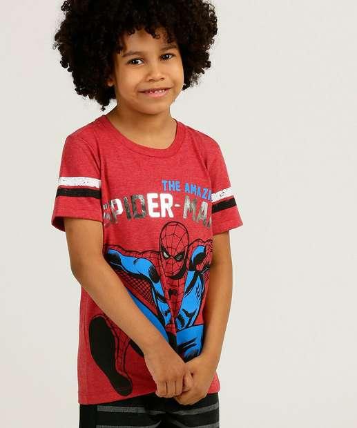 Image_Camiseta Infantil Manga Curta Homem Aranha Marvel Tam 4 a 10