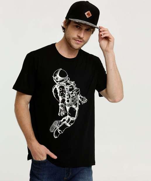 Image_Camiseta Masculina Estampa Astronauta Manga Curta Marisa