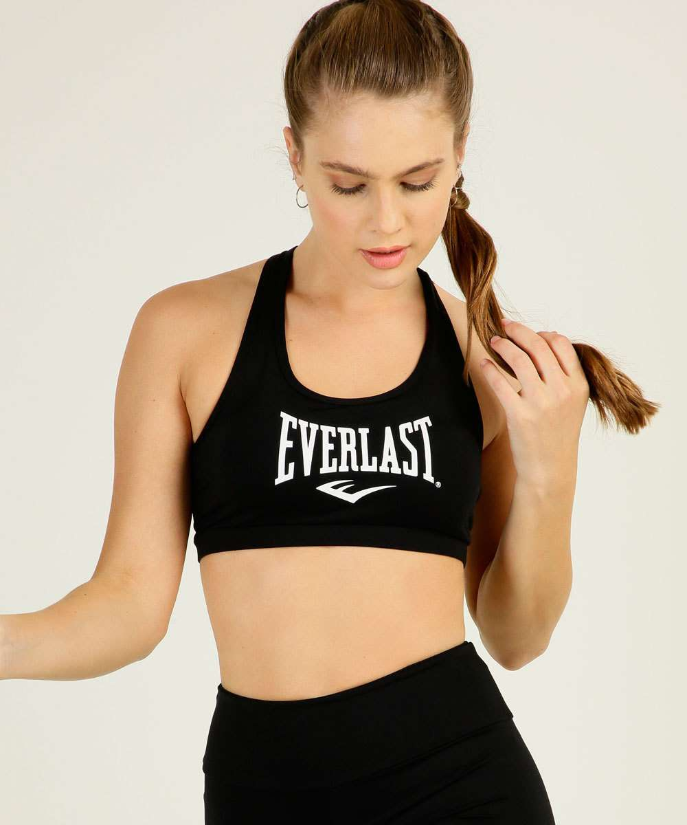 Top Feminino Fitness Nadador Everlast