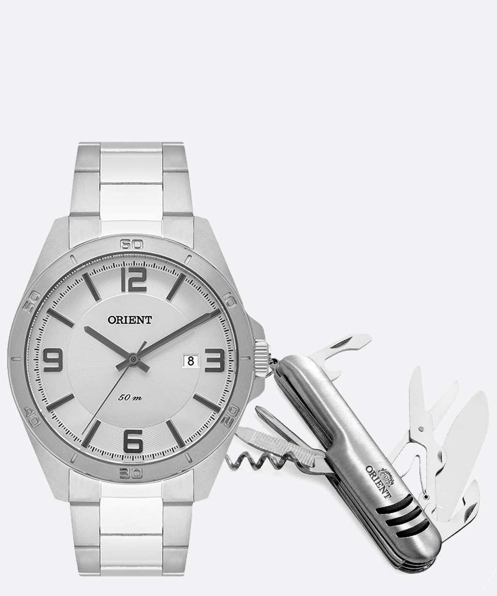Kit Relógio Masculino Orient MBSS1377 KM42S2