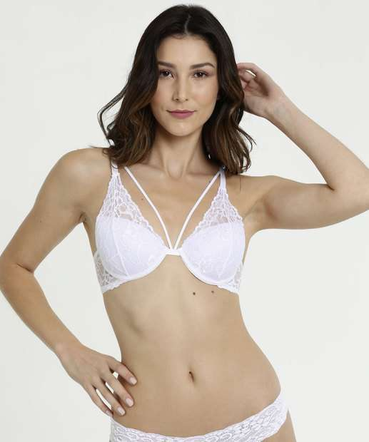 Image_Sutiã Feminino Push Up Strappy Renda Marisa